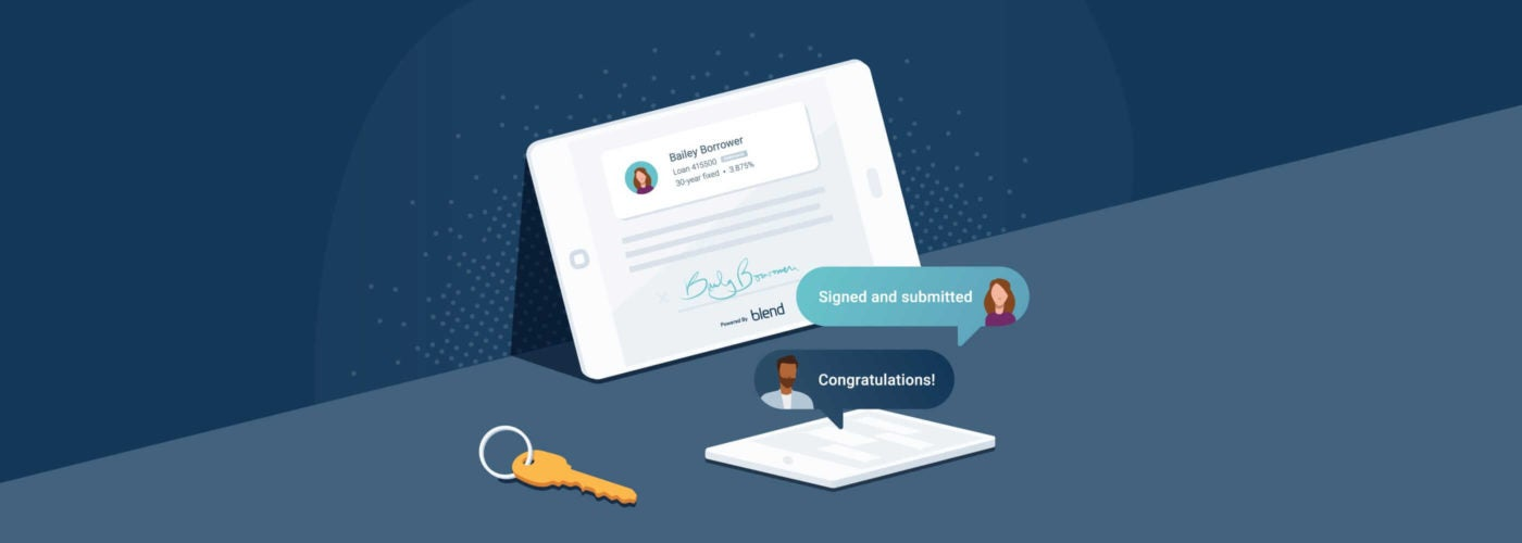 Blend's digital lending platform