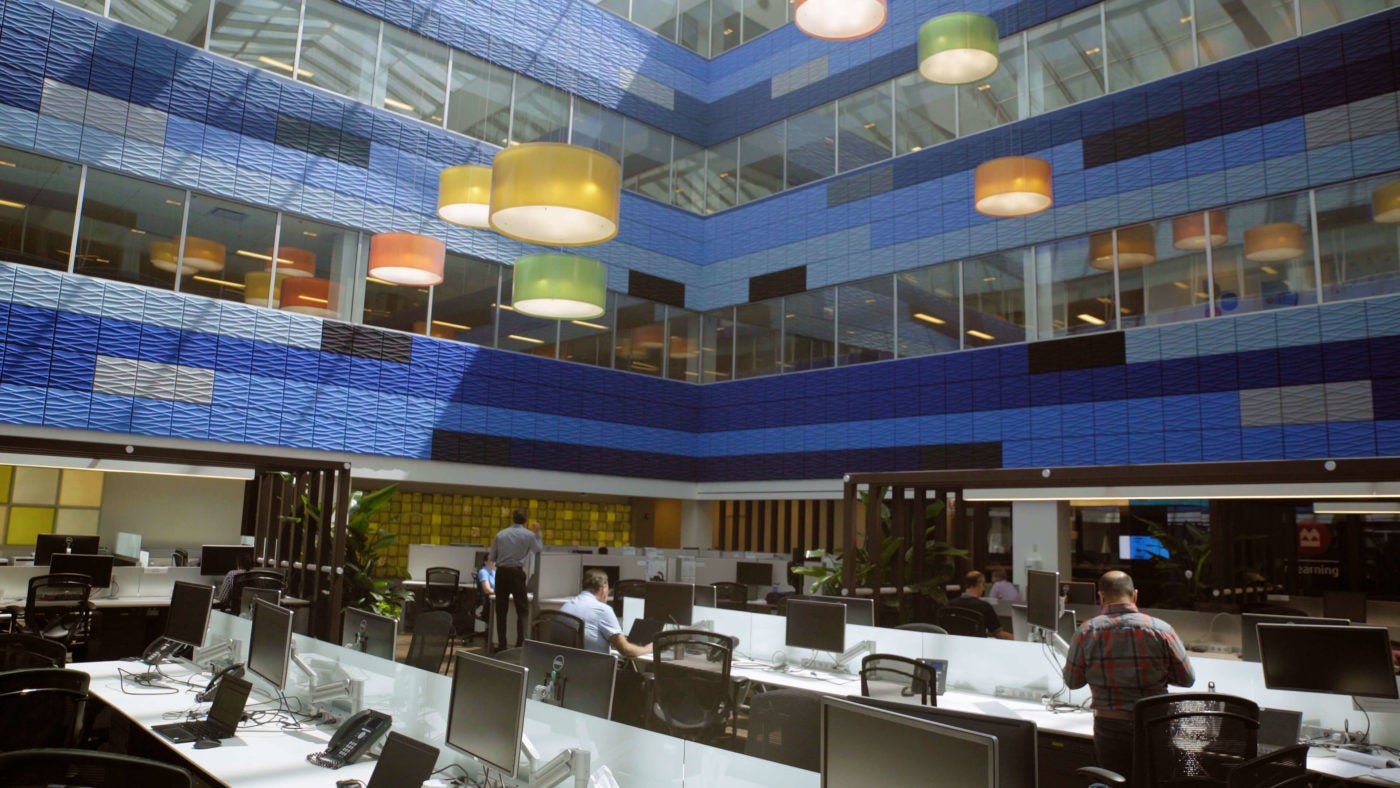 Bmo Harris Bank office interior