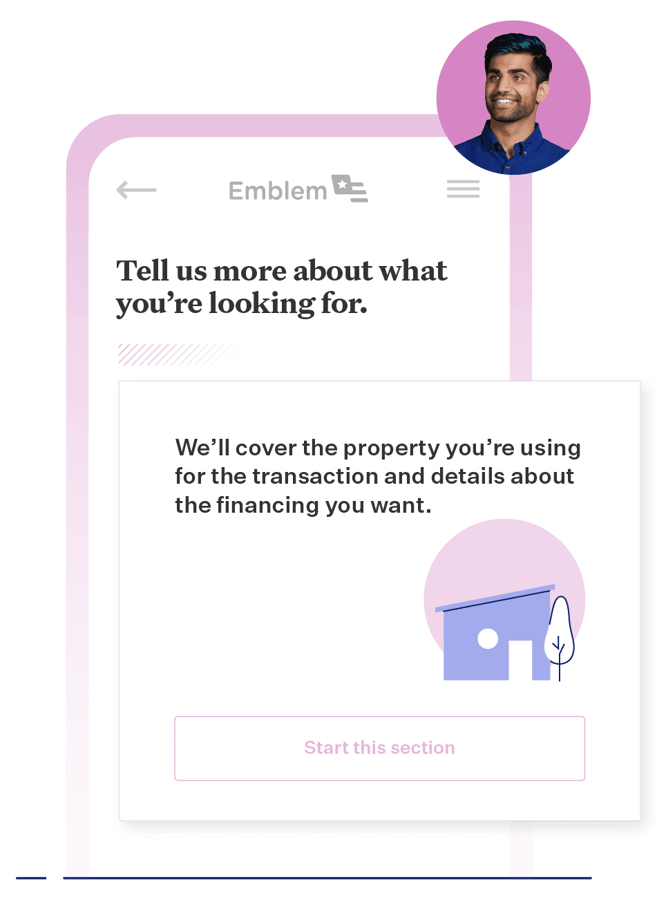Home equity applicant interface