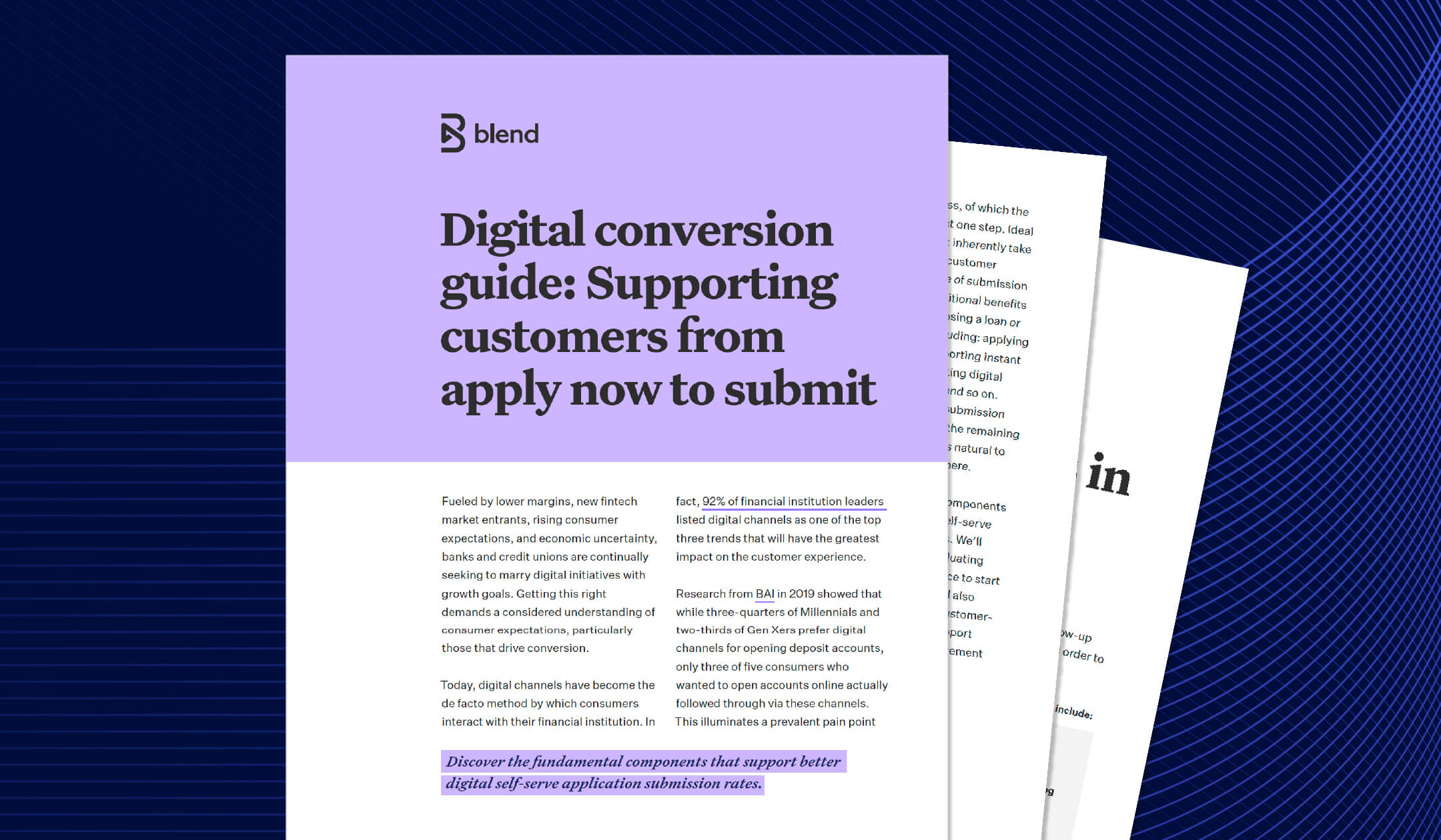 Preview of the digital conversion guide