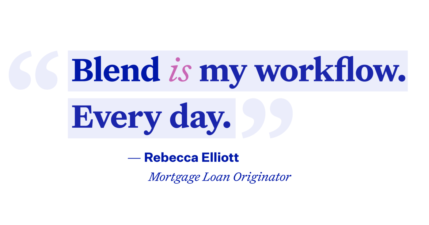 Illustrated quote: Blend is my workflow. Every day.