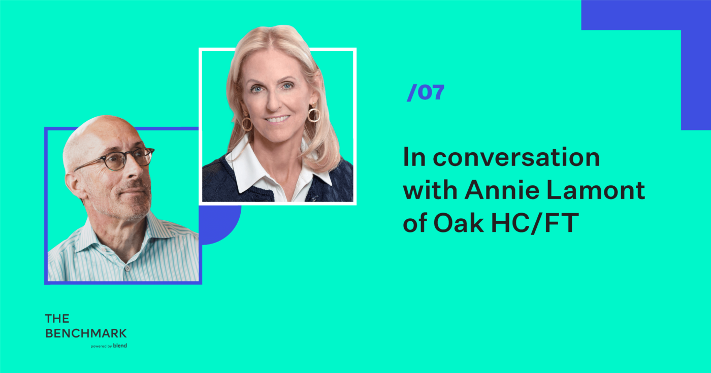 The Benchmark Episode Seven featuring Annie Lamont of Oak HC/FT
