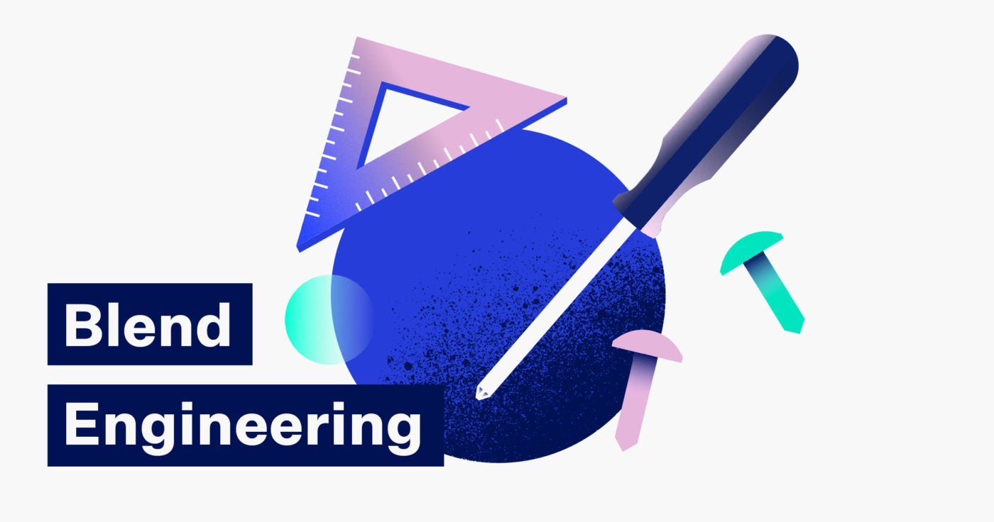 Illustration of Blend Engineering tools