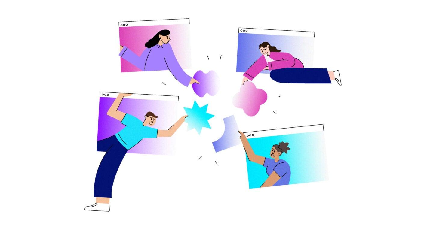 Design intern computer graphic illustration